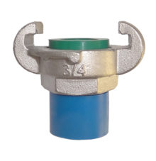 Male thread coupling made of stainless steel
