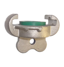 End cap made of stainless steel with or without chain