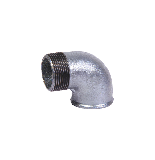 NO 92 - ISO/EN A4 elbow 90° F x M galvanized