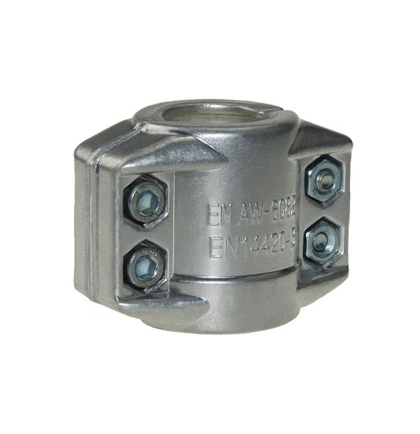 Aluminium-Klemmschale
