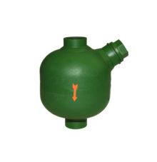 Druckluft-Schmierapparat für vertikalen Einbau
