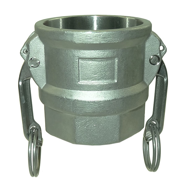 Coupler with female thread type D / DF made of stainless steel
