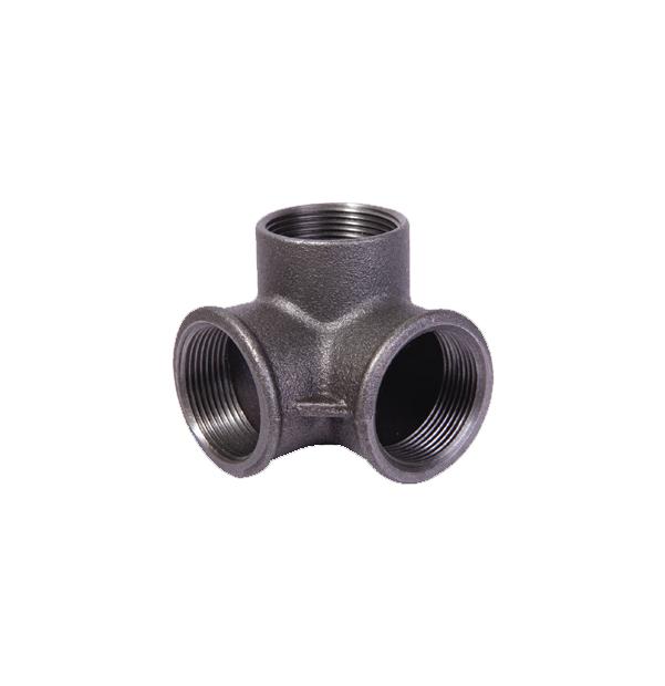 NO 221 - ISO/EN Za1 side outlet elbow black
