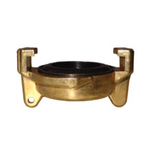 End cap made of brass for water