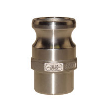 Camlock male adapter with welding end type AW