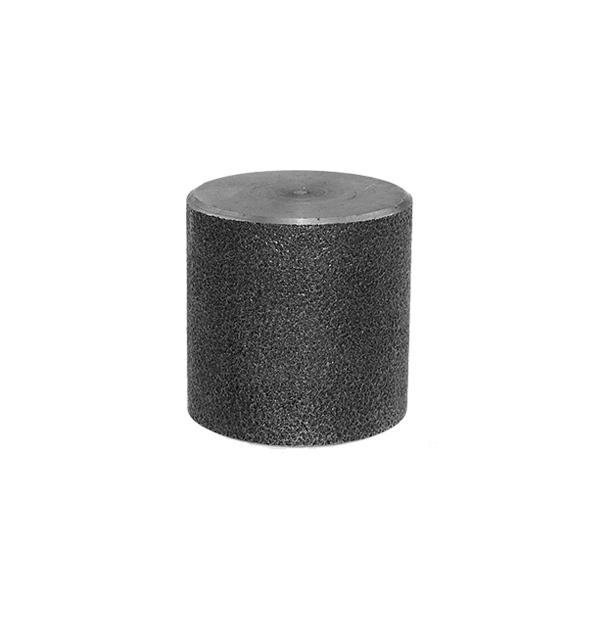 Cap made of steel black