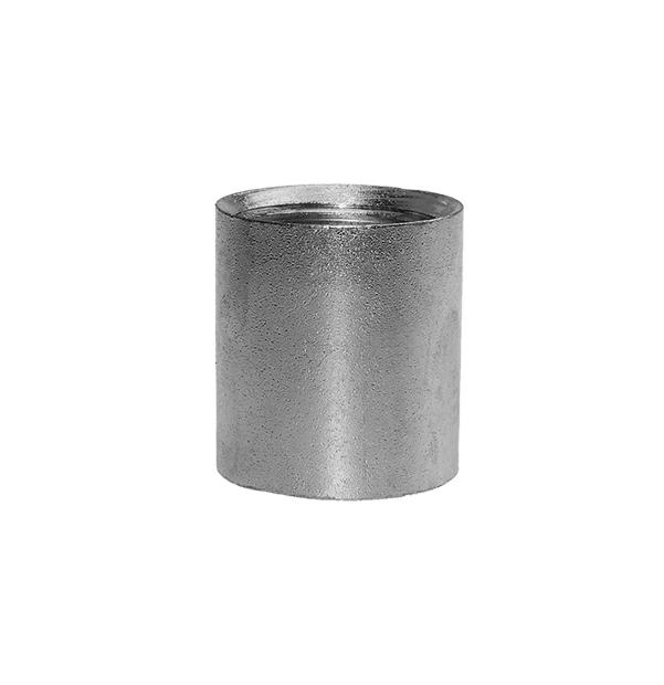 Socket made of steel zinc plated