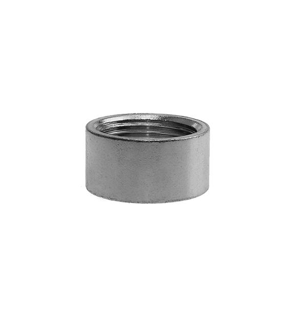 Half socket made of steel zinc plated