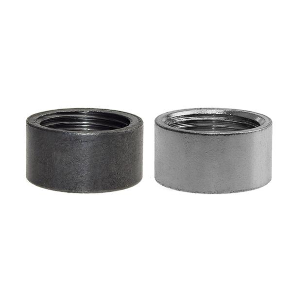 Half socket made of steel