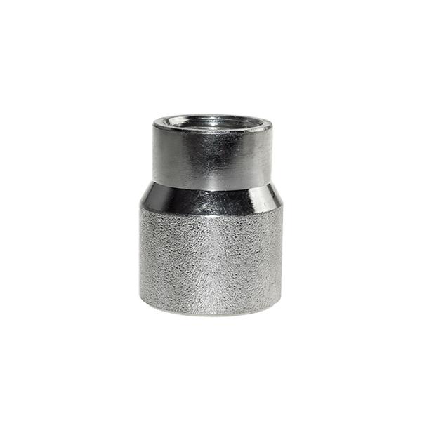 Muffe reduziert Nr. 17 aus Stahl verzinkt