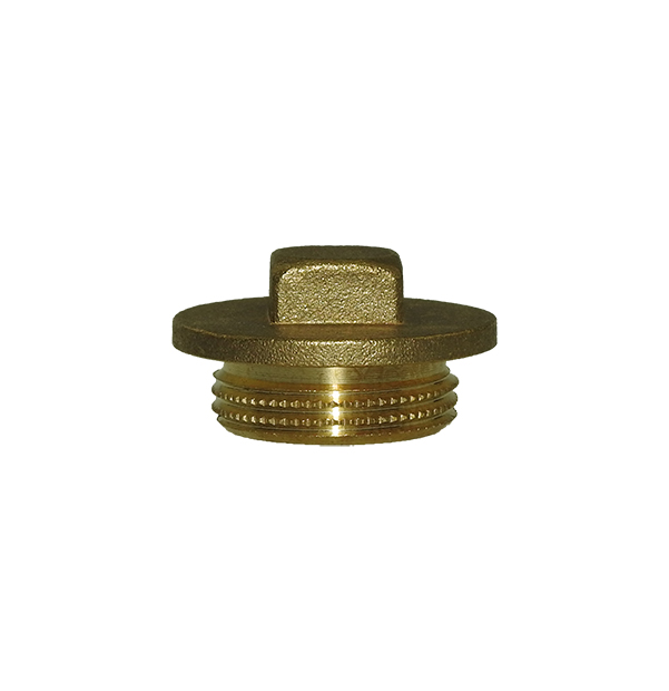 Plug made of brass