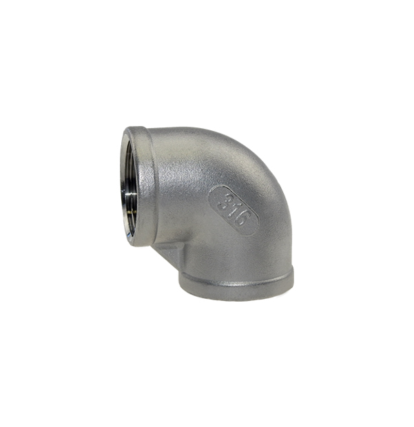 Elbow 90° female thread made of stainless steel