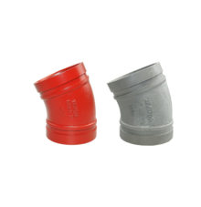 Grooved elbow 22,5° No. 110