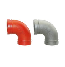 Grooved elbow 90° No. 90