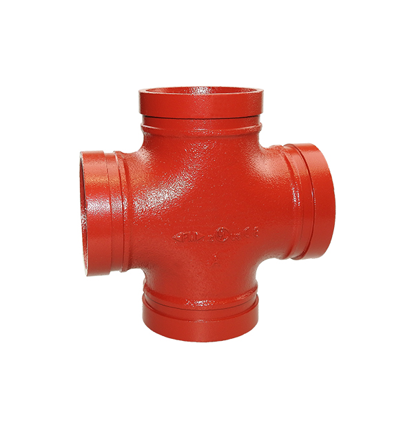 Grooved cross No. 180 red