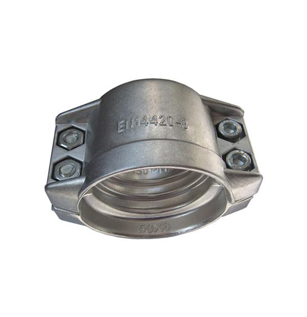 Aluminum safety clamp EN 14420-3 (DIN 2817)
