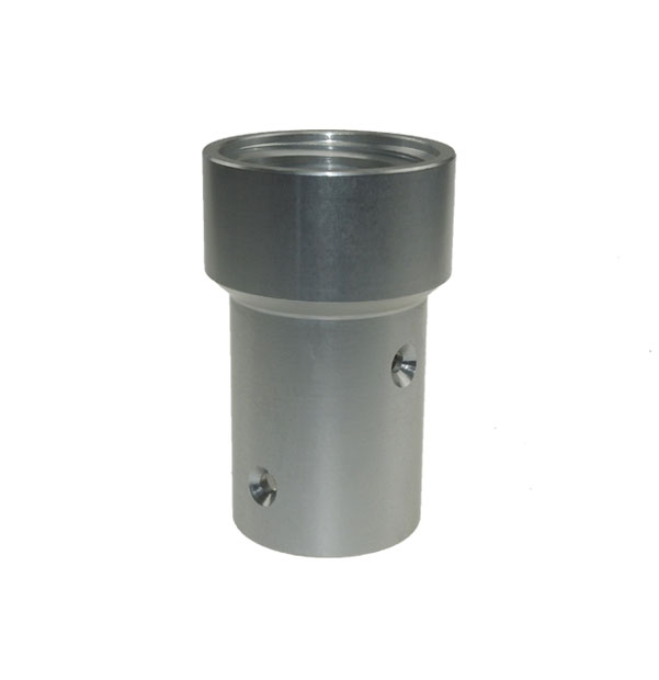 Düsenhalter mit Innengewinde aus Aluminium