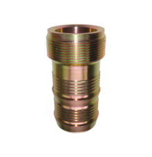 Threaded stem for mortar coupling, normal clamping