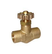 Needle regulating valve