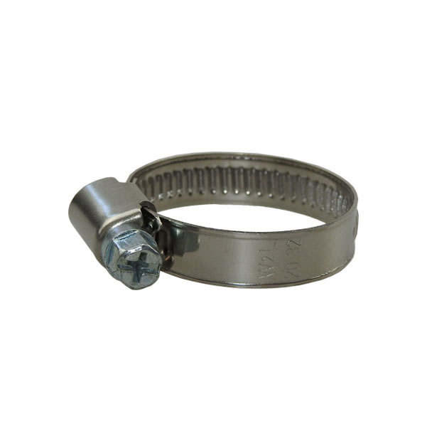 Hose clamp shape A 9 mm band width DIN 3017 W2