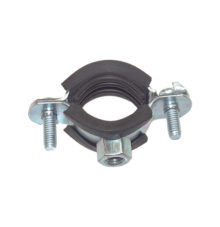 Pipe clamp with EPDM profile