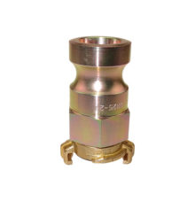 Transition piece male adapter to brass claw coupling for water