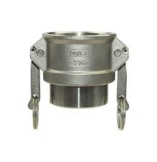Camlock coupler with welding end