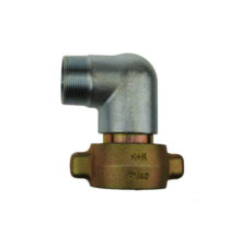 90° degree transition with male thread for compressed air