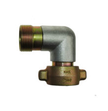 90° degree transition with knuckle thread for compressed air