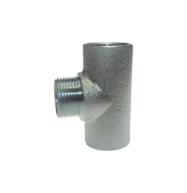T-Stueck-mit-Aussengewinde-Abgang-Stahl-verzinkt