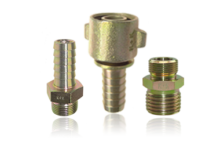 Compressed air fittings
