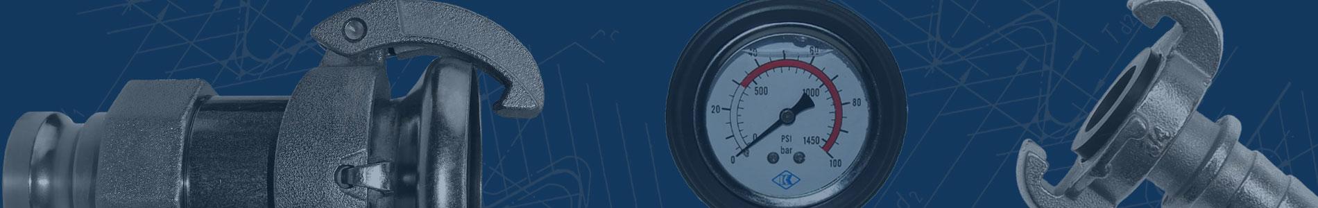 Kardankupplung-Manometer-Druckluftkupplung